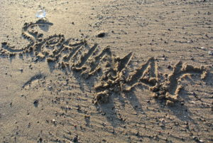 """seminar"", written on the beach"